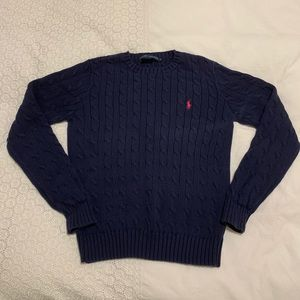 Ralph Lauren 100% Cotton Cable Knit Sweater
